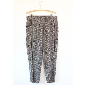Anthropologie Hei Hei Print Pants P L